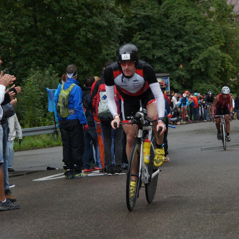 Der Dornbirner Martin Bader bot im Allgäu eine gute Leistung.