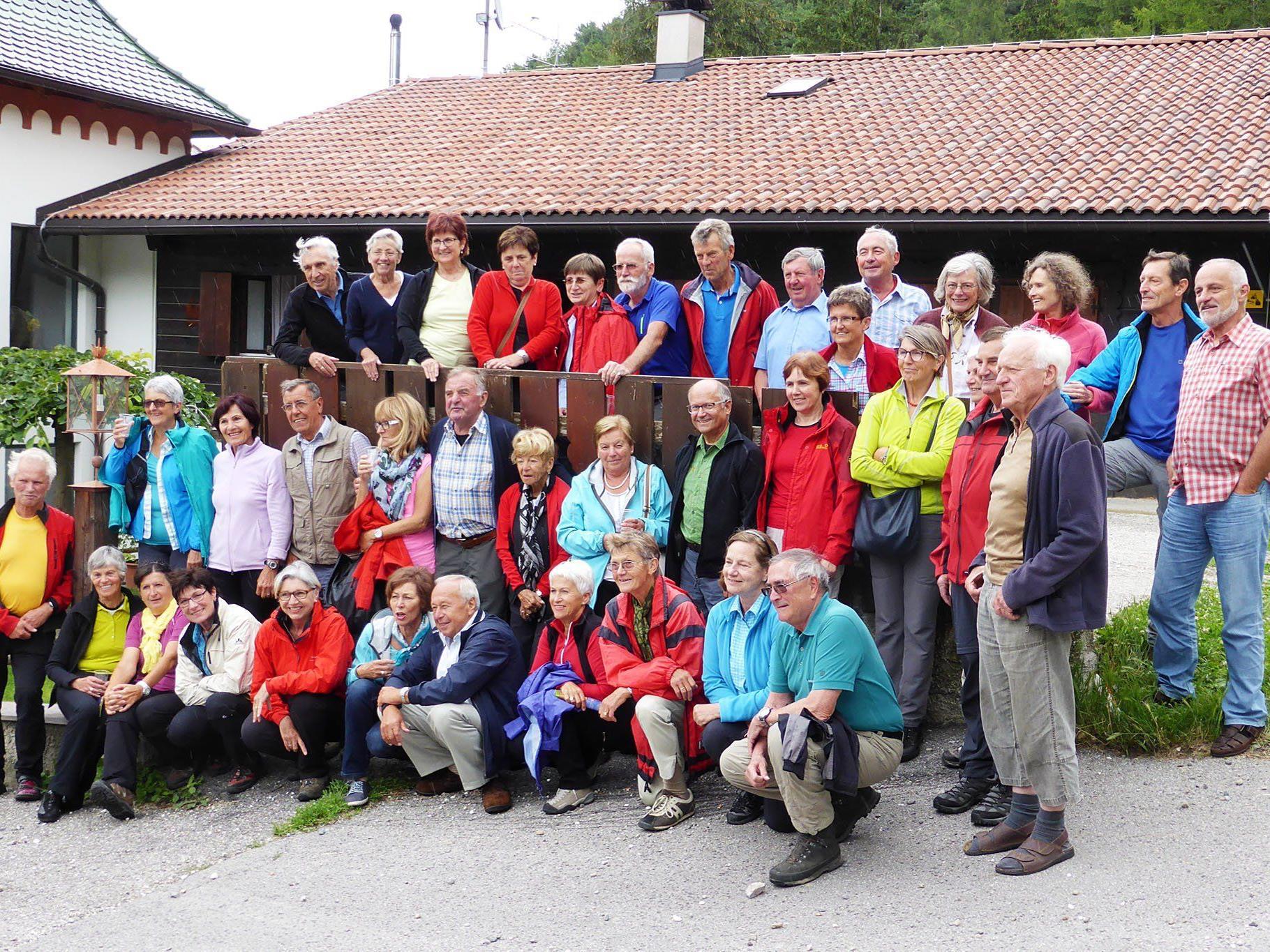 Die Wandergruppe des Seniorenbundes Dornbirn erlebten schöne Tage im Südtirol