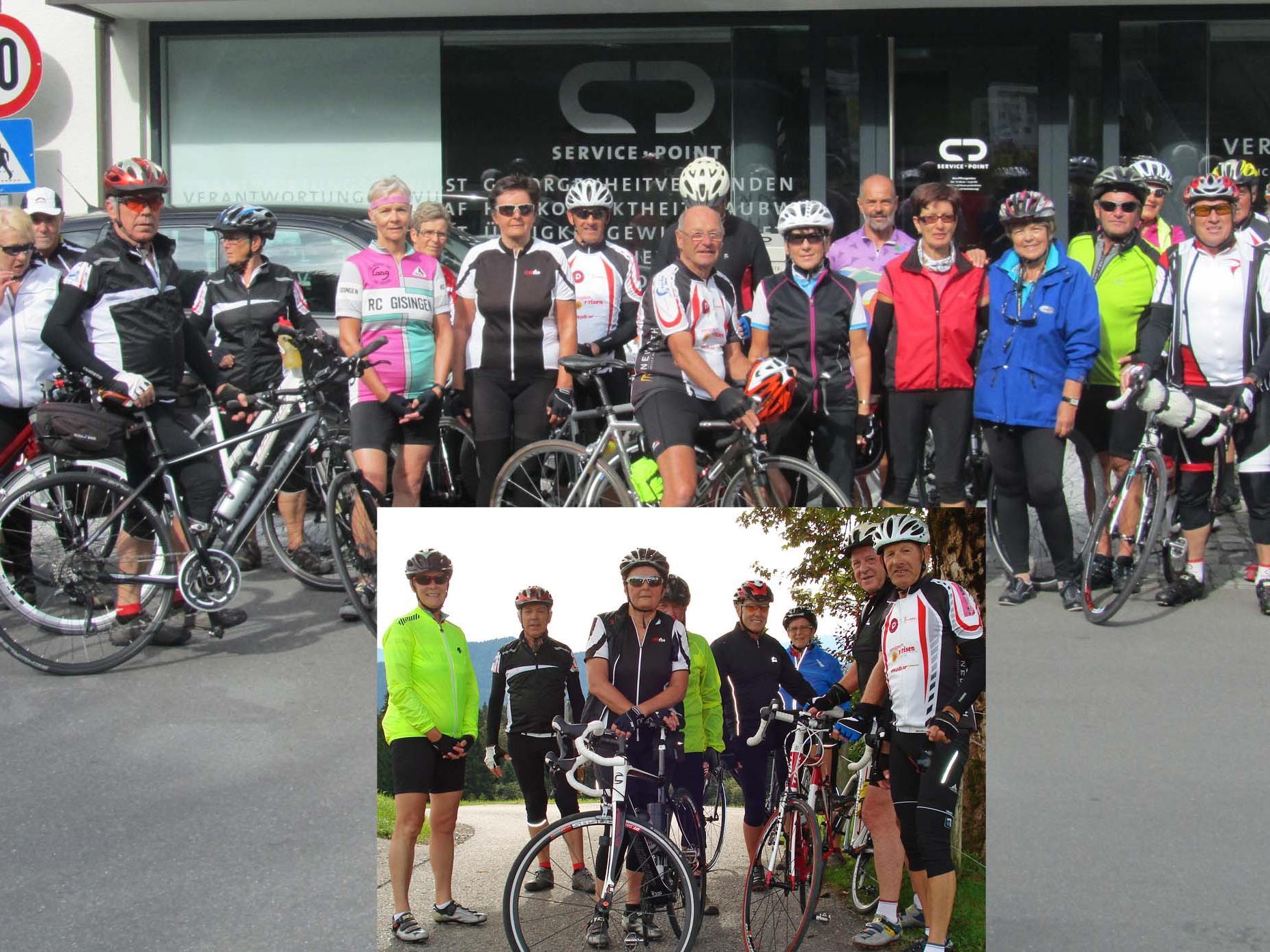Team per pedales: Im Hofsteig und Rheintal unterwegs