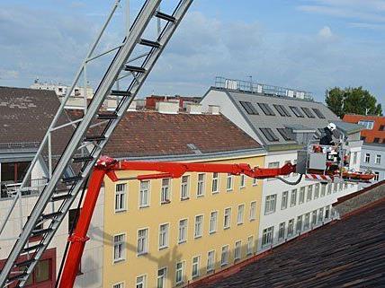 Beim Einsatz in Wien