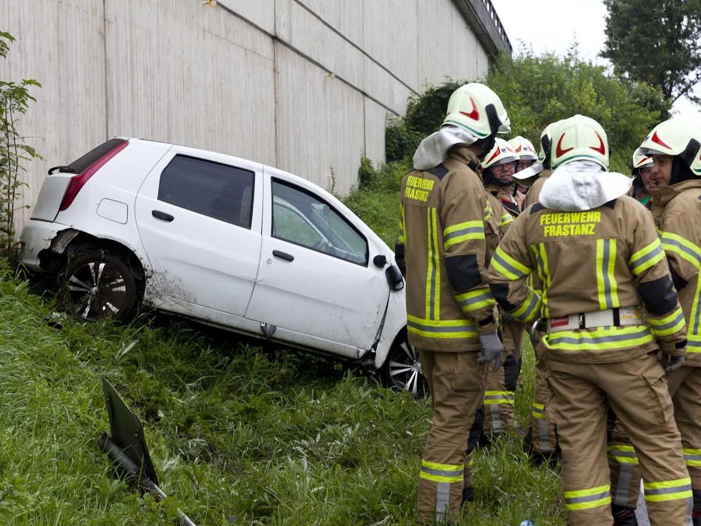 Fahrer konnte selbständig aussteigen