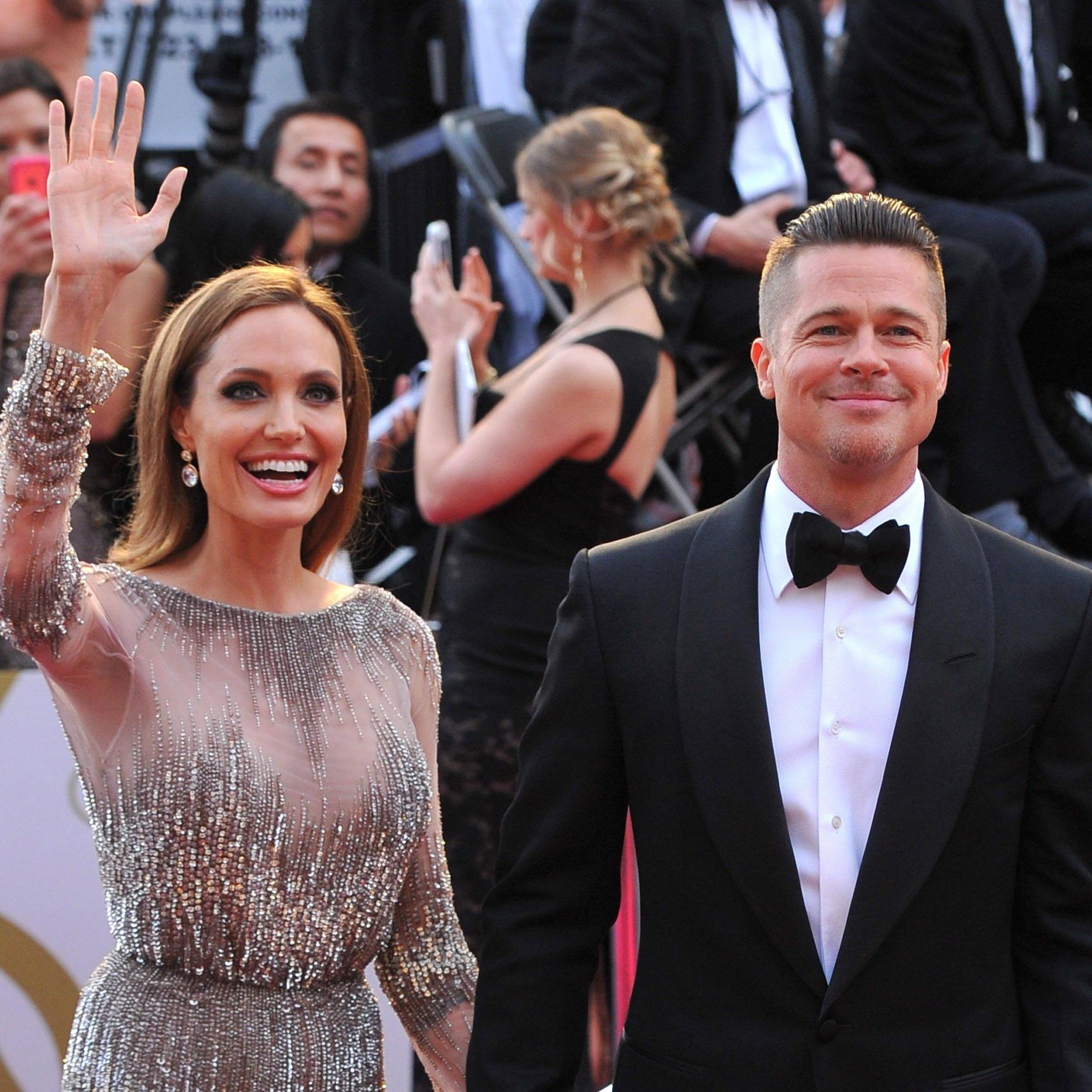 """Hollywoods Traumpaar """"Brangelina"""" soll nun endlich geheiratet haben."""