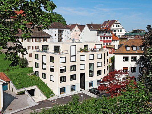 Das neue Wohn- und Geschäftshaus im schönen Bregenz
