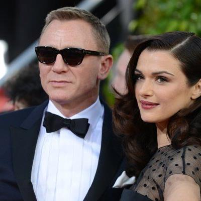 James Bond Darsteller Daniel Craig mit seiner Frau Rachel Weisz