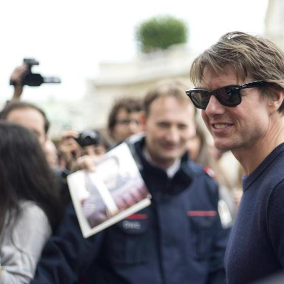 """Mission: Impossible V"": Tom Cruise bereits in Wien gelandet."