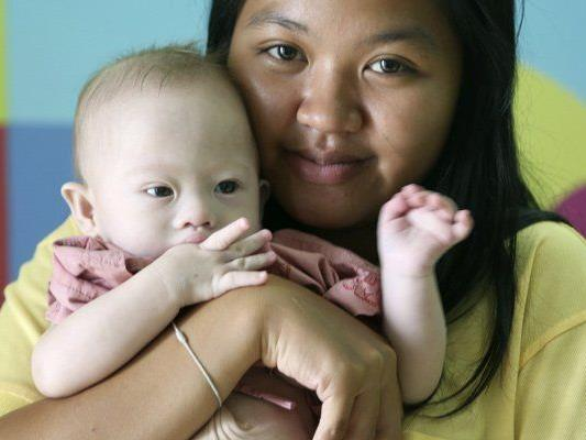 Mutter und Kind werden aktuell in einem Krankenhaus betreut.