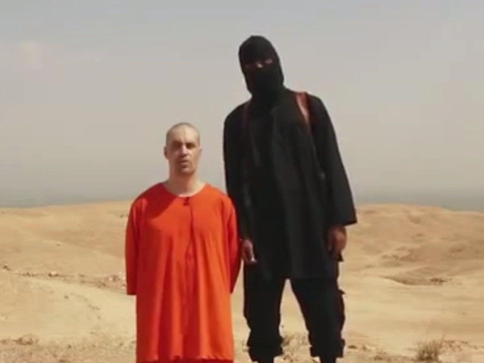 Eine Szene aus dem Video, kurz bevor James Foley enthauptet wird.
