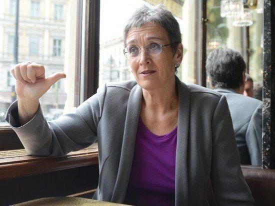 Ulrike Lunacek wurde mit Buttersäure attackiert und will weitere Ermittlungen