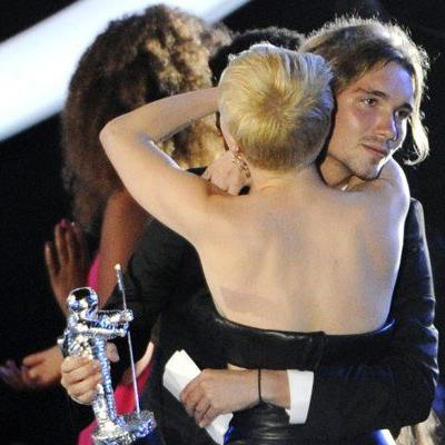Miley und Jesse bei den MTV Video Music Awards