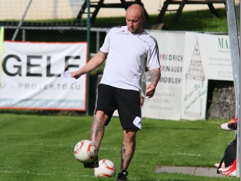 Neuer Trainer der zweiten Kampfmannschaft von RW Rankweil: Tony Porges