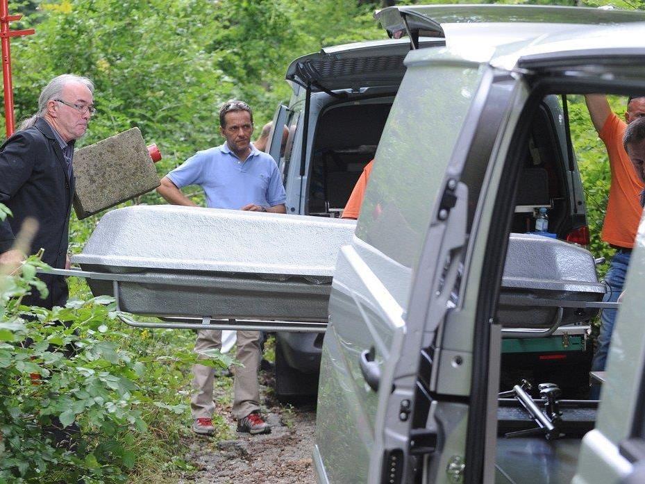 Der Wiener Anwalt wurde tot in einem Waldstück in Tulln gefunden.