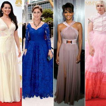 Das waren die schönsten und misslungensten Outfits der Stars bei den Emmy-Awards.