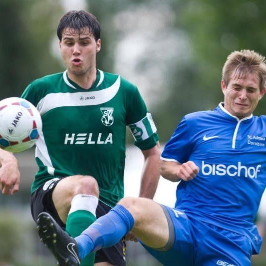Dornbirner SV gewann vor 600 Fans das Stadtduell gegen die Admira überraschend mit 4:2.