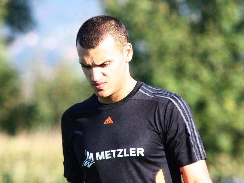 Dominic Hehle will auch im Derby gegen Feldkirch seinen Kasten rein halten.