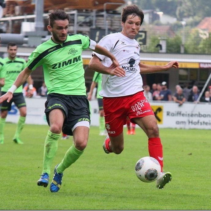 Titelverteidiger FC Dornbirn gewann in Wolfurt trotz Rückstand noch mit 3:1 und steht im Achtelfinale.