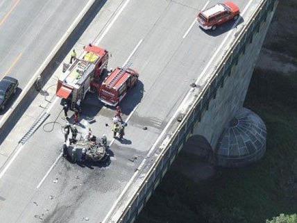 Weiterhin befindet sich das Unfallopfer auf der Intensivstation.