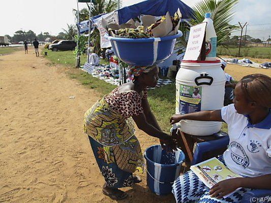 Sierra Leone kämpft gegen die Epidemie an