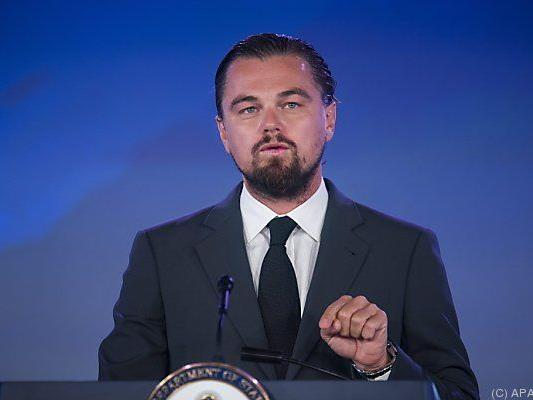 DiCaprio ist für sein soziales Engagement bekannt