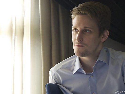 Snowden sieht Preis an ihn als Bestätigung