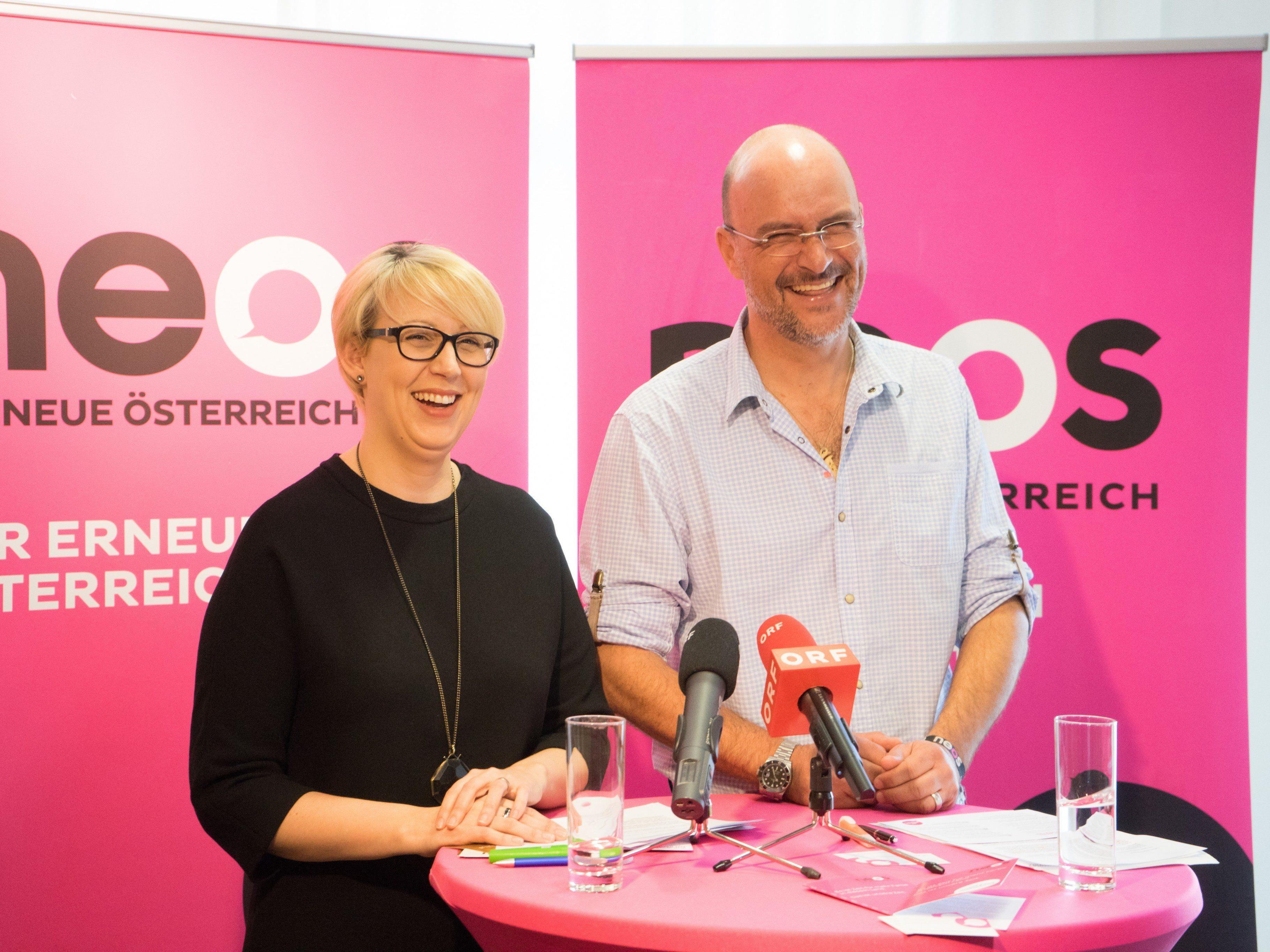 Damals hatten Chris Alge und Sabine Scheffknecht noch ein gutes Verhältnis