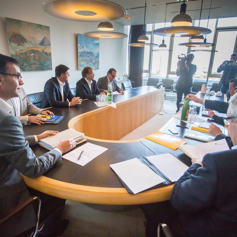 ÖVP bei ersten Sondierungsgeprächen