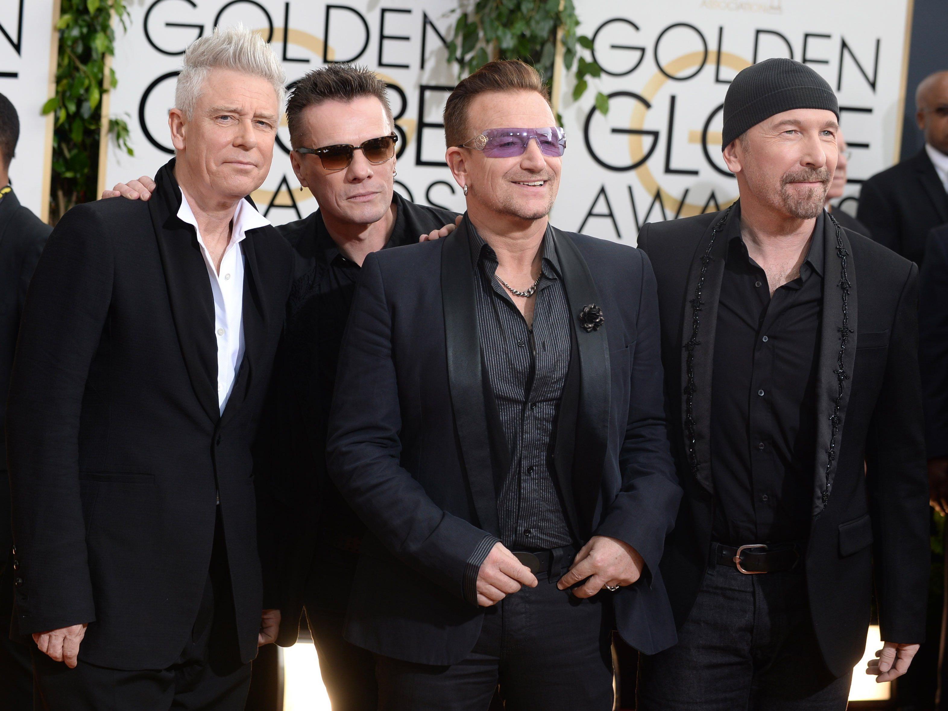 Das Geschenk von U2 kam nicht bei allen gut an.