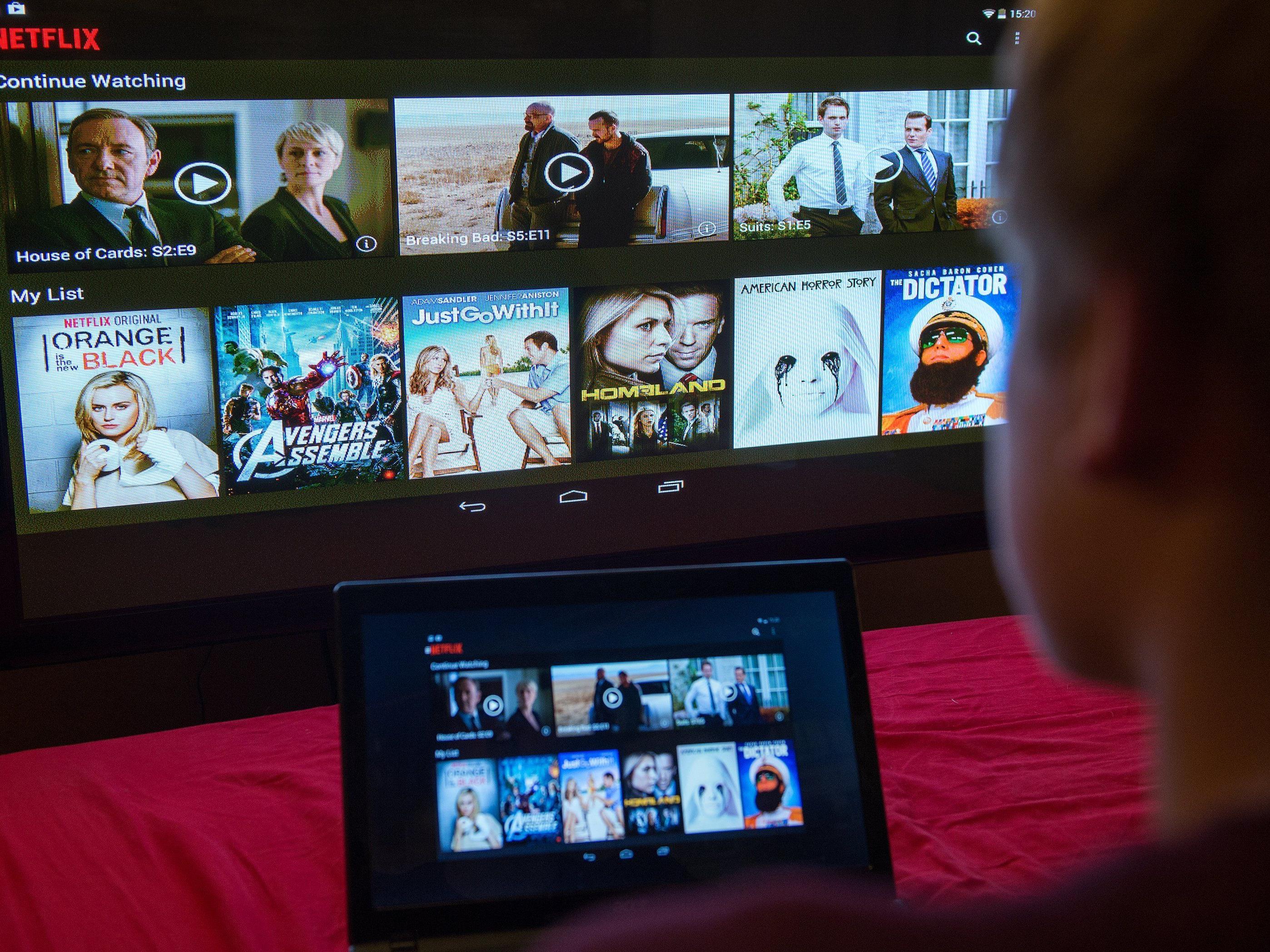Netflix startet spätestens am Mittwoch auch in Österreich.