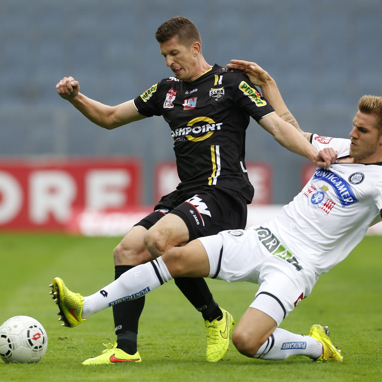 Andreas Lienhart gelang in Graz ein Treffer und ein Assist.