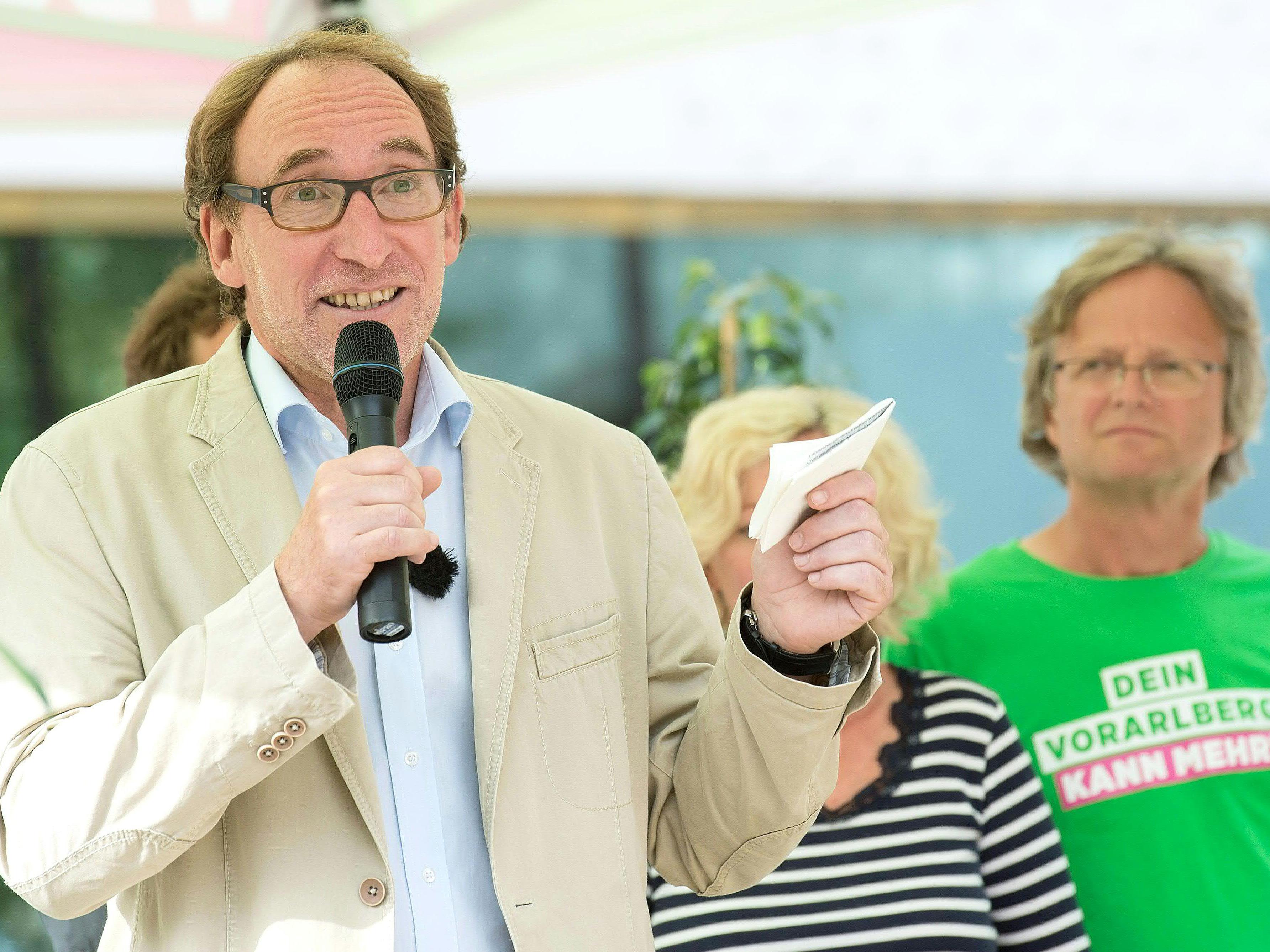 Die Grünen verzeichnen einen großen Zuwachs in Rankweil, Heimat Gemeinde von Johannes Rauch.