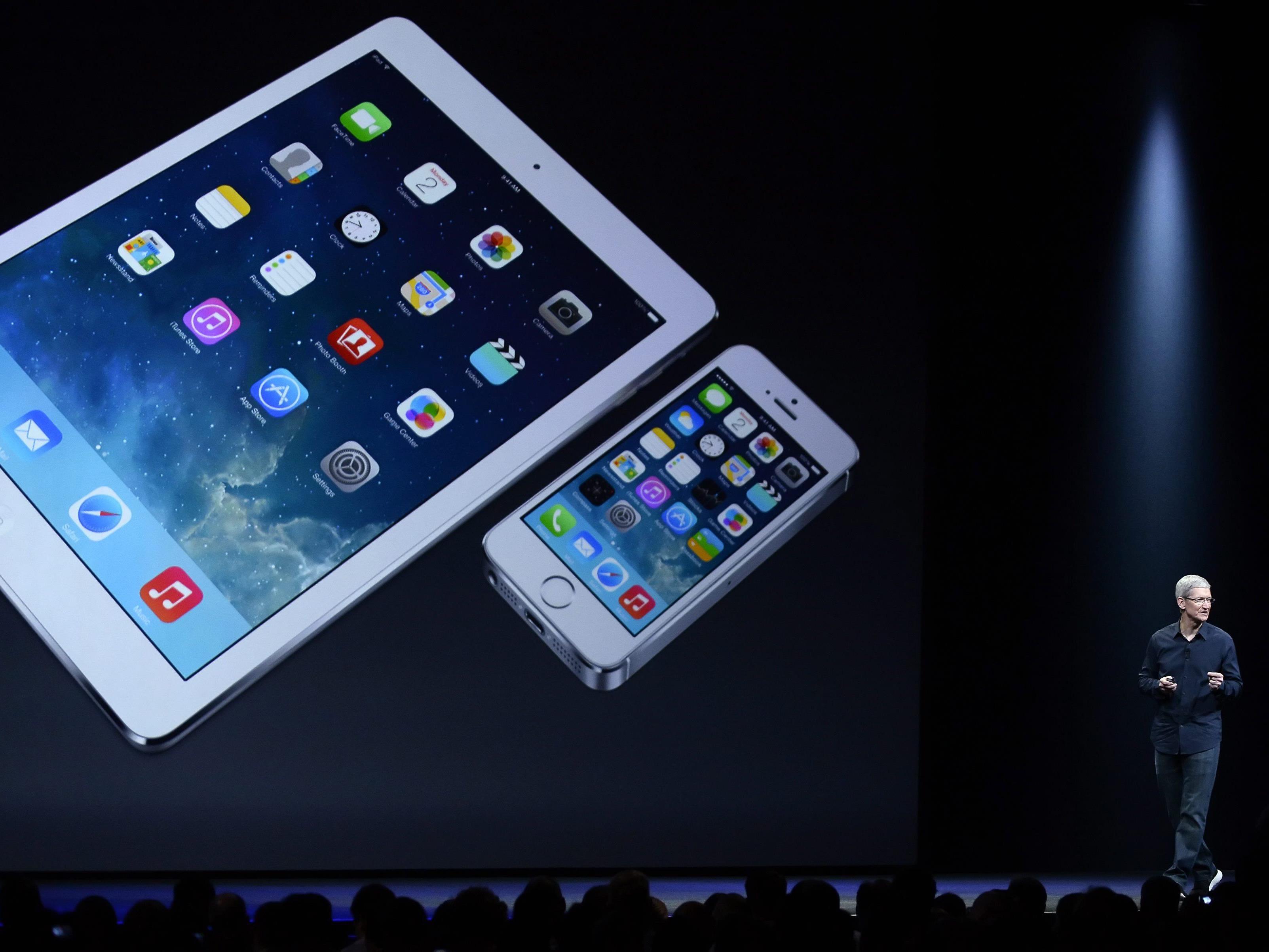 Das iOs 8 funktioniert nur auf neueren Apple-Geräten