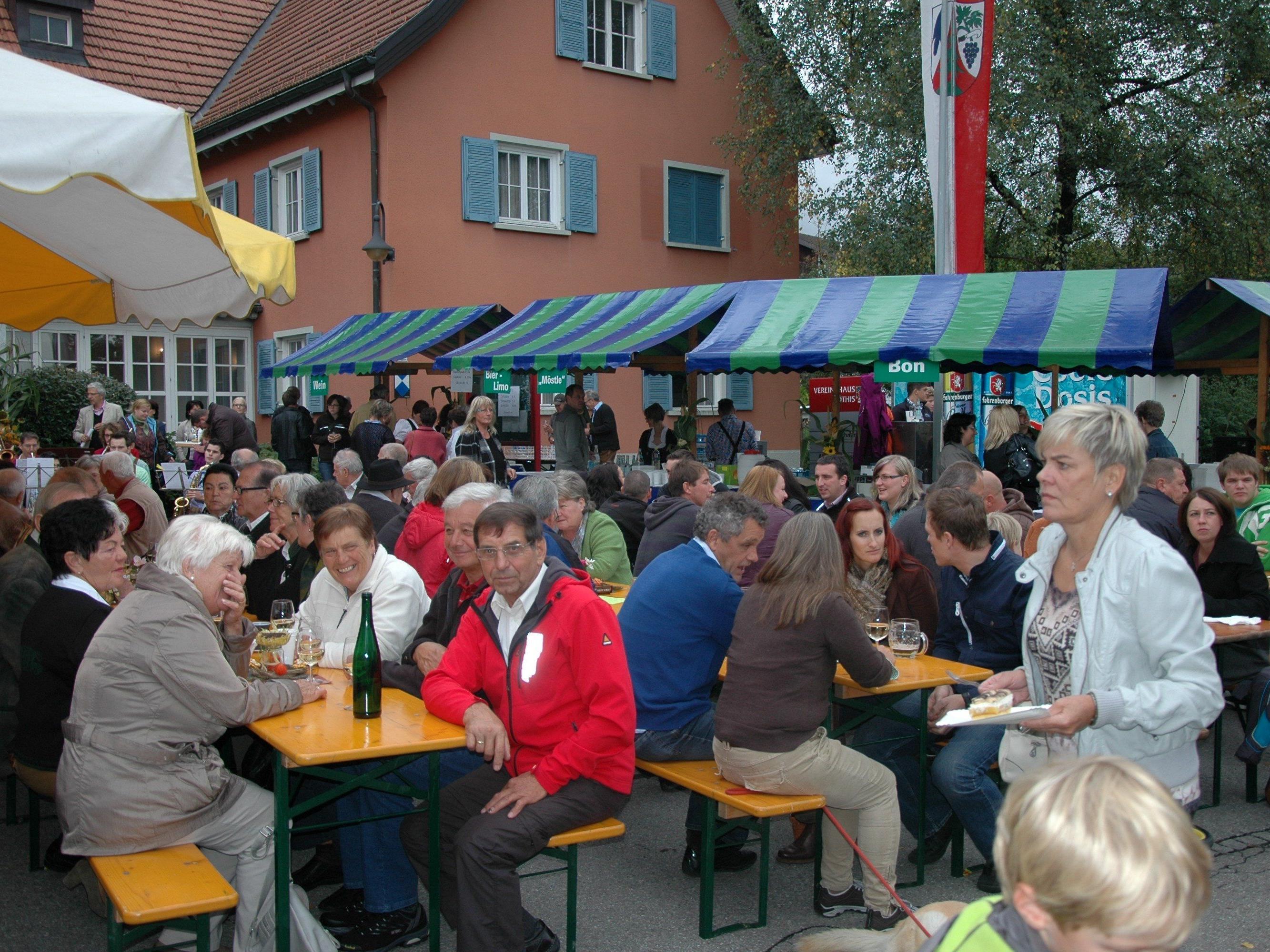 Am kommenden Wochenende ist Dorfmarktzeit im Vorderland.