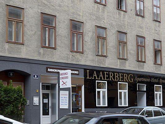 In diesem Haus in Wien-Favoriten geschah die Bluttat