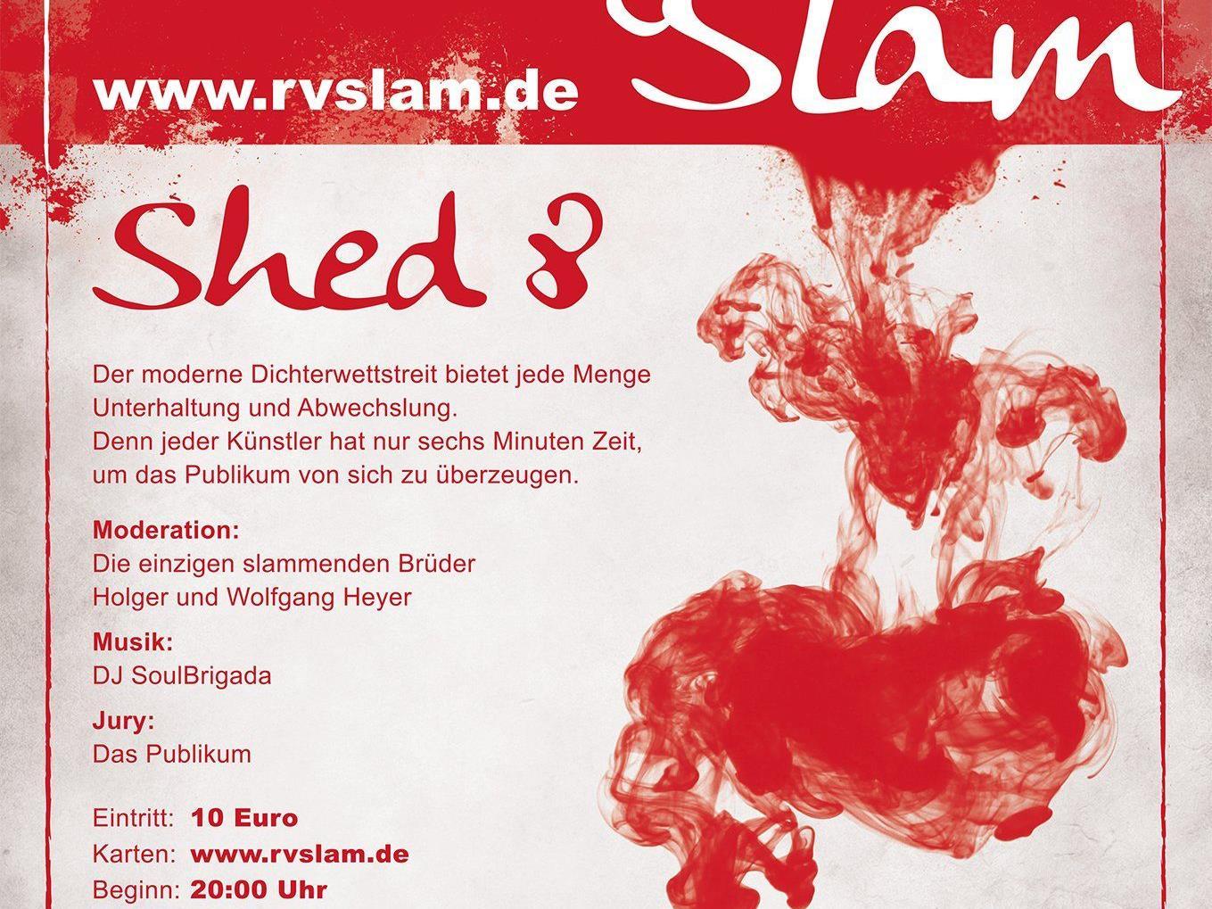 Plakat des ersten 'Bregenz slammt'