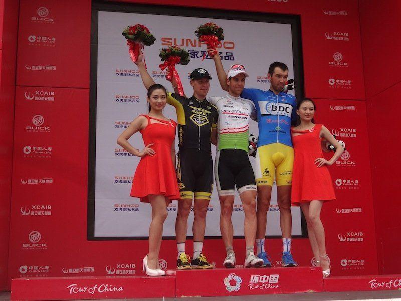 Grischa Janorschke feiert den nächsten Sieg für das Team Vorarlberg.