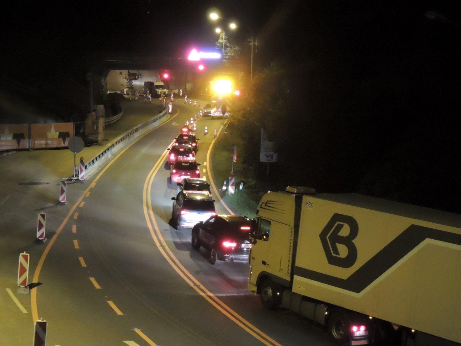 Vorübergehende Sperren des Citytunnels