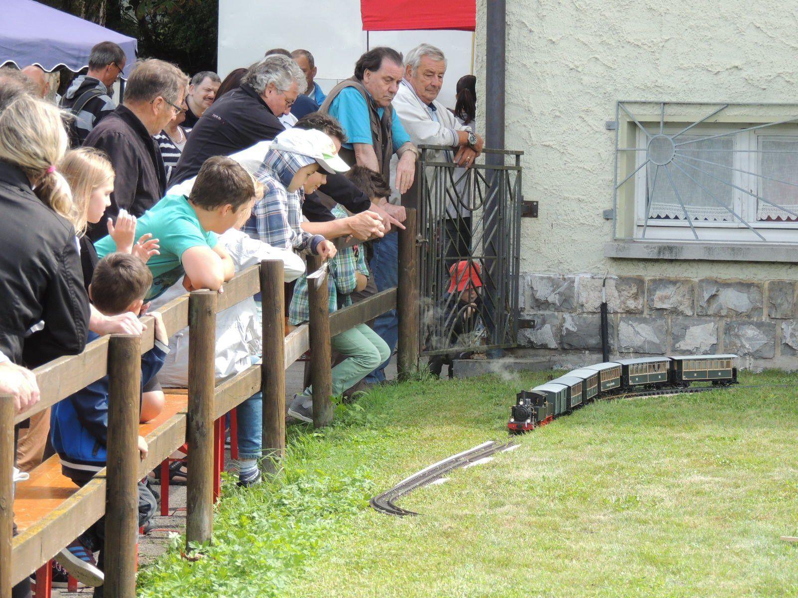 Die Welt der Miniatureisenbahnen erfreute Alt und Jung