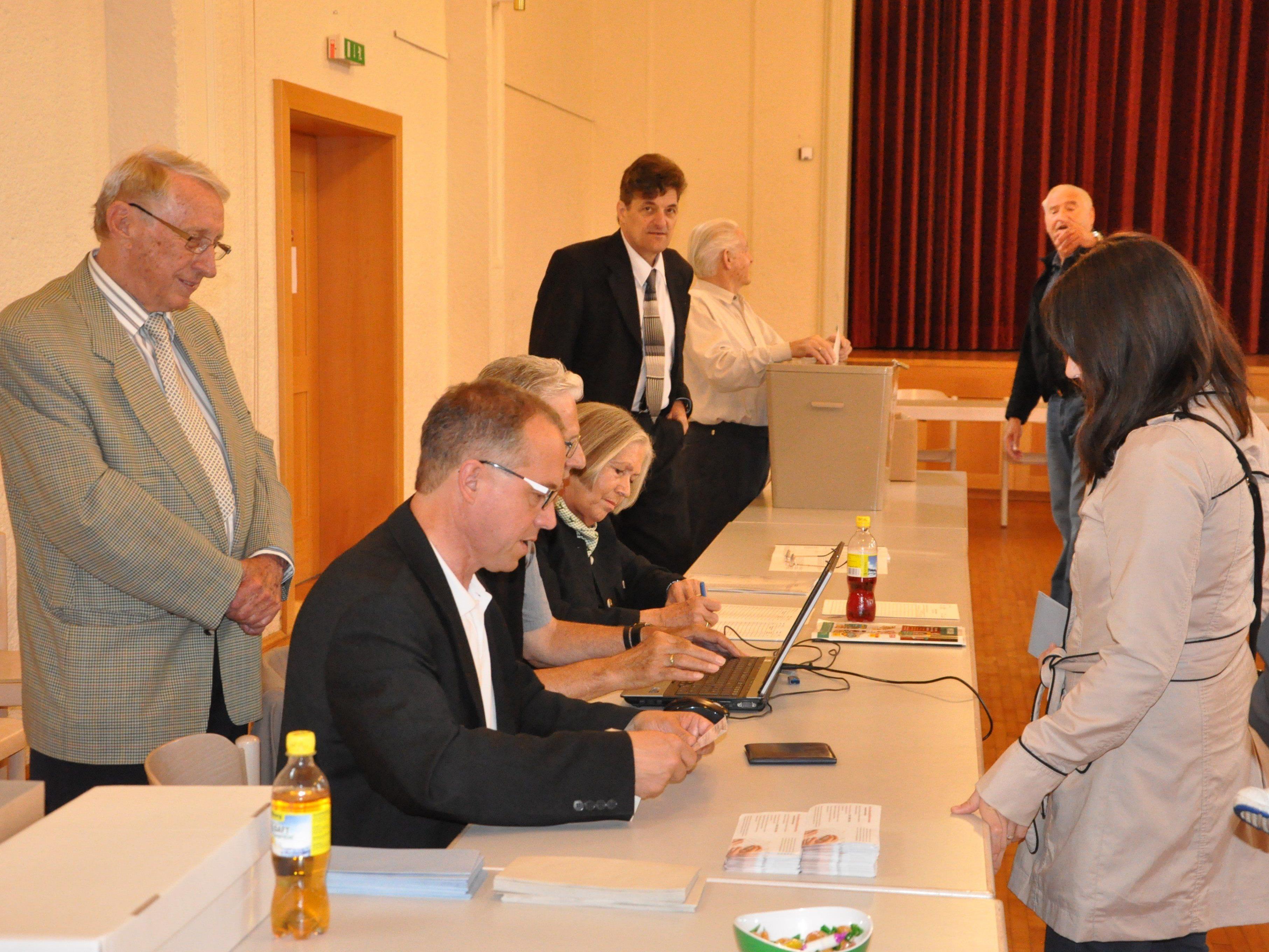 Im Durschnitt fanden weniger Röthner den Weg zur Wahlurne.