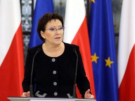 Ewa Kopacz tritt nun das Amt der polnischen Ministerpräsidentin an