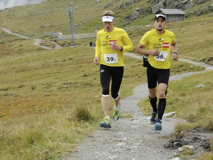 Knapp die Hälfte aller Läufer konnte die 810 Höhenmeter und 10,5 km unter 1,5 Std. bewältigen.