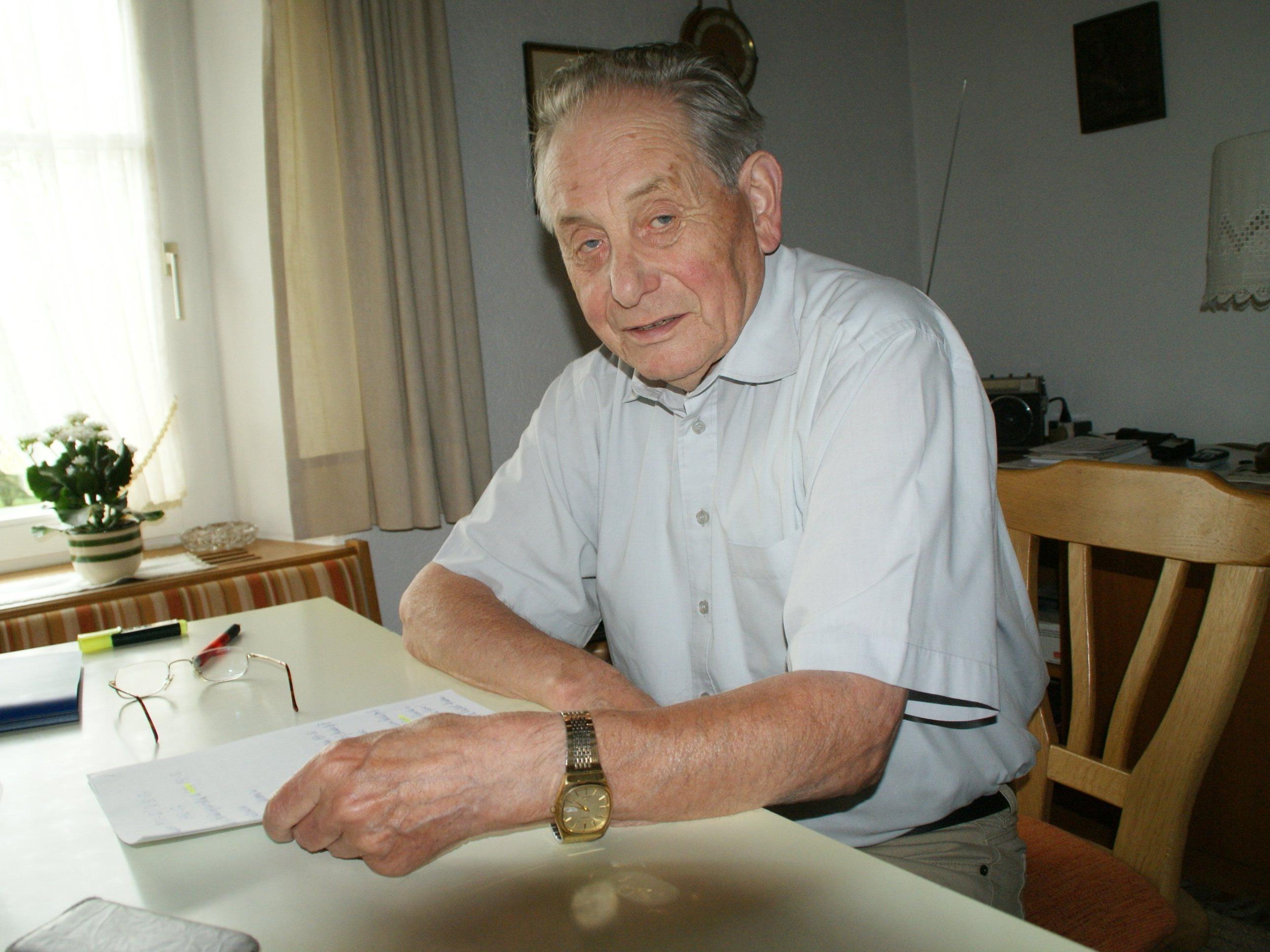 Hugo Loacker hat alles dokumentiert