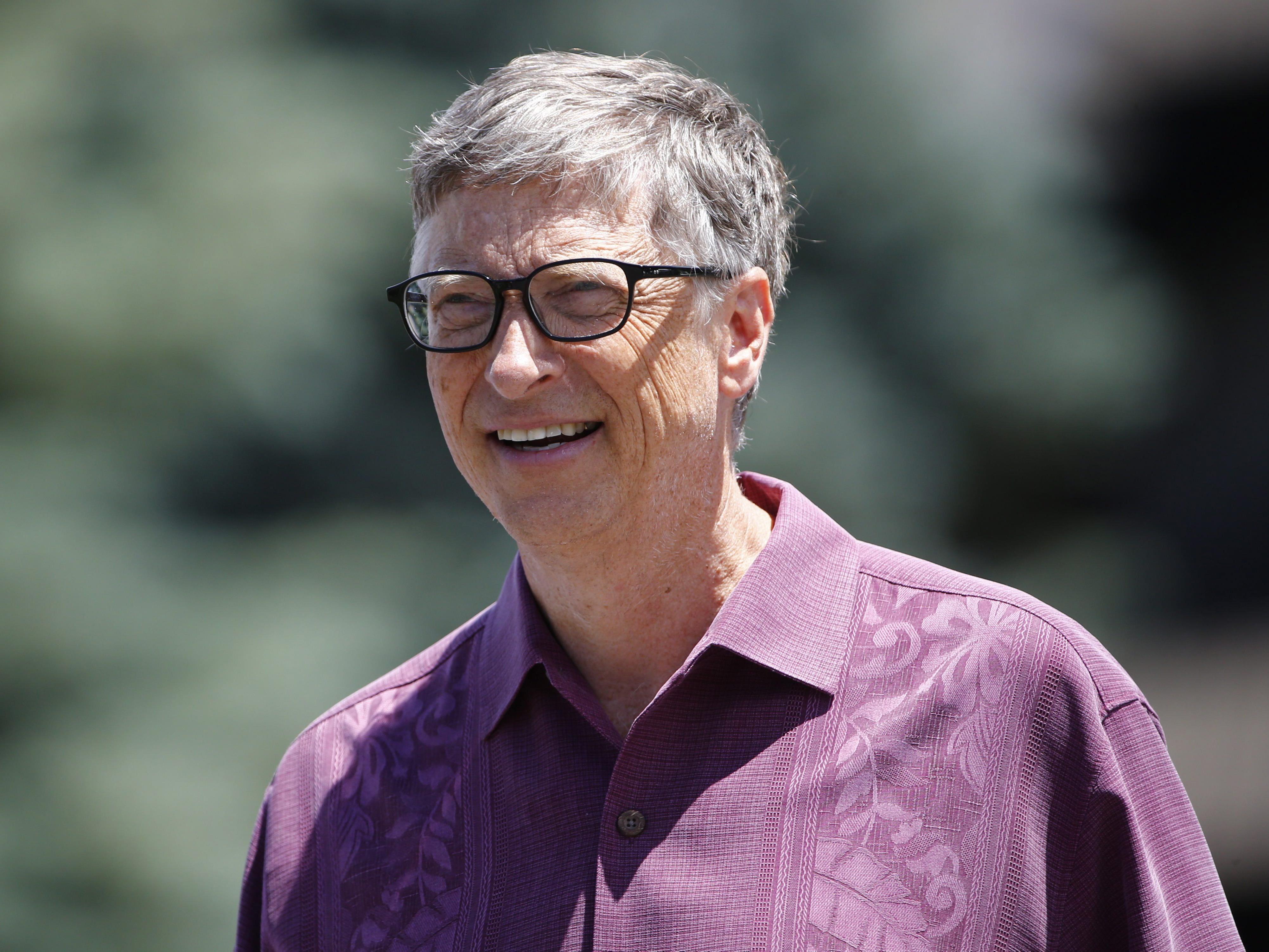 Bill Gates nimmt sich jeden Abend Zeit zum lesen