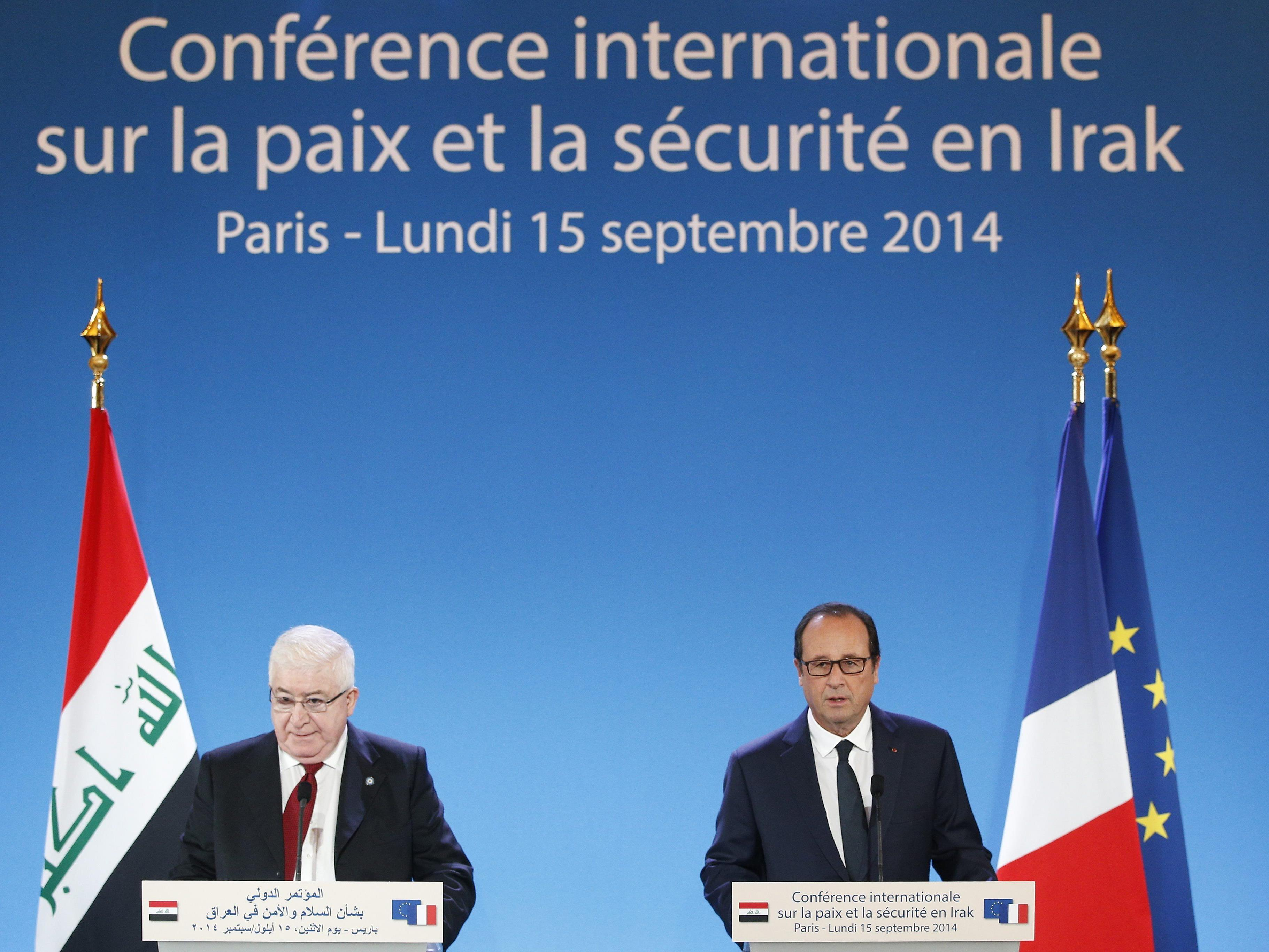 In Paris tagt derzeit die IS-Konferenz.