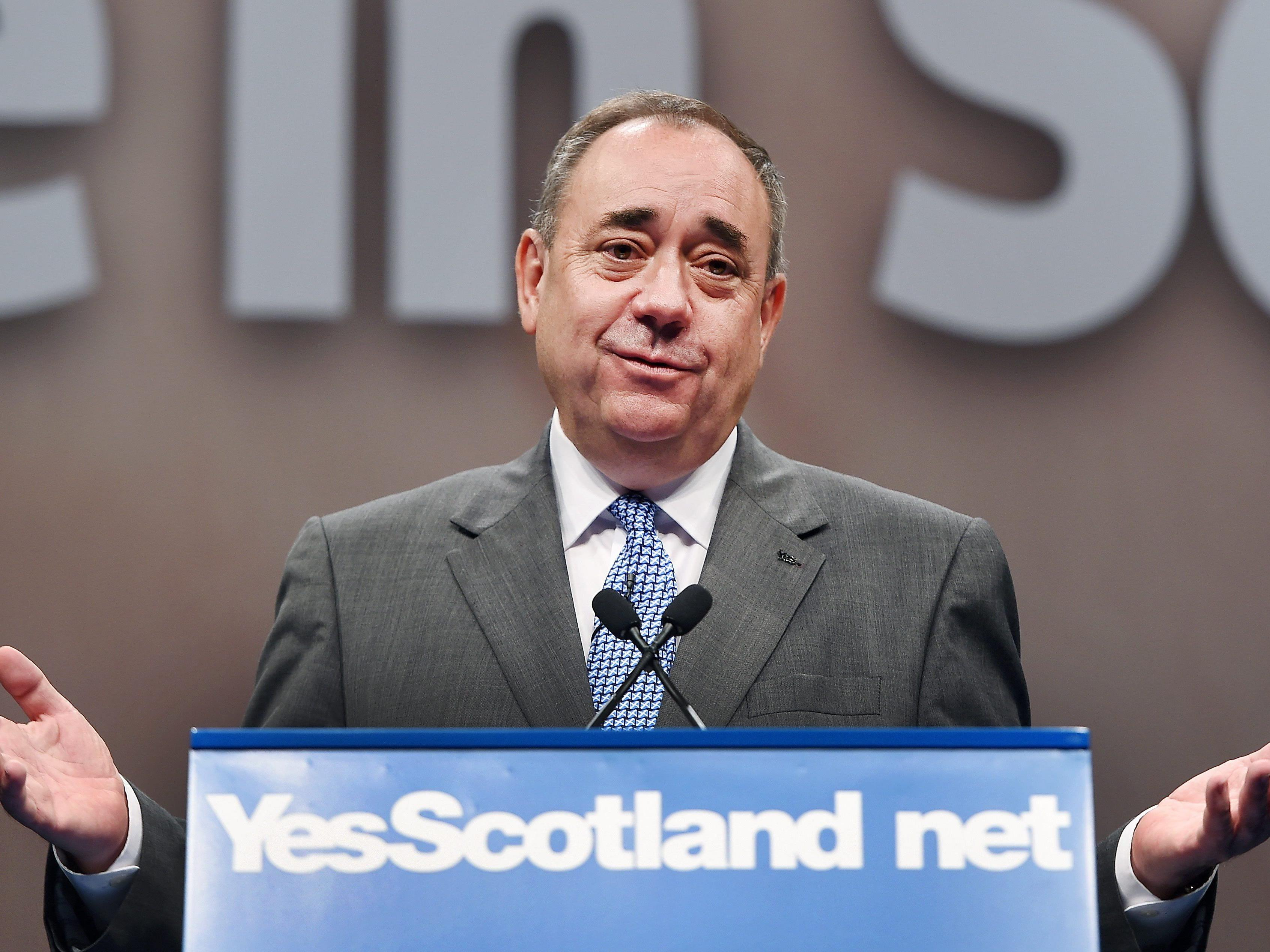 Alex Samond setzt sich für die Unabhängigkeit Schottlands ein.