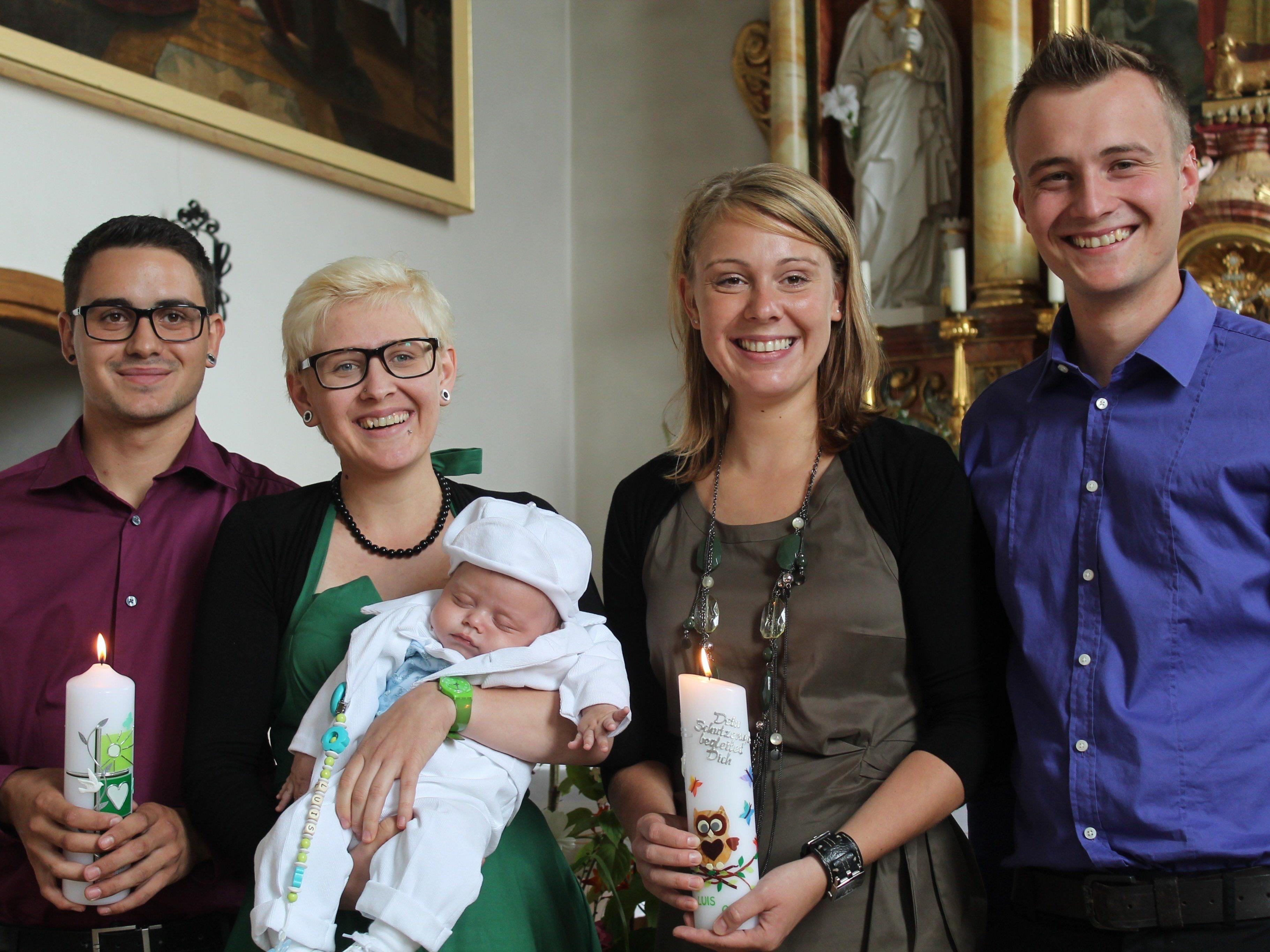 Luis Gohm wurde in Düns getauft.