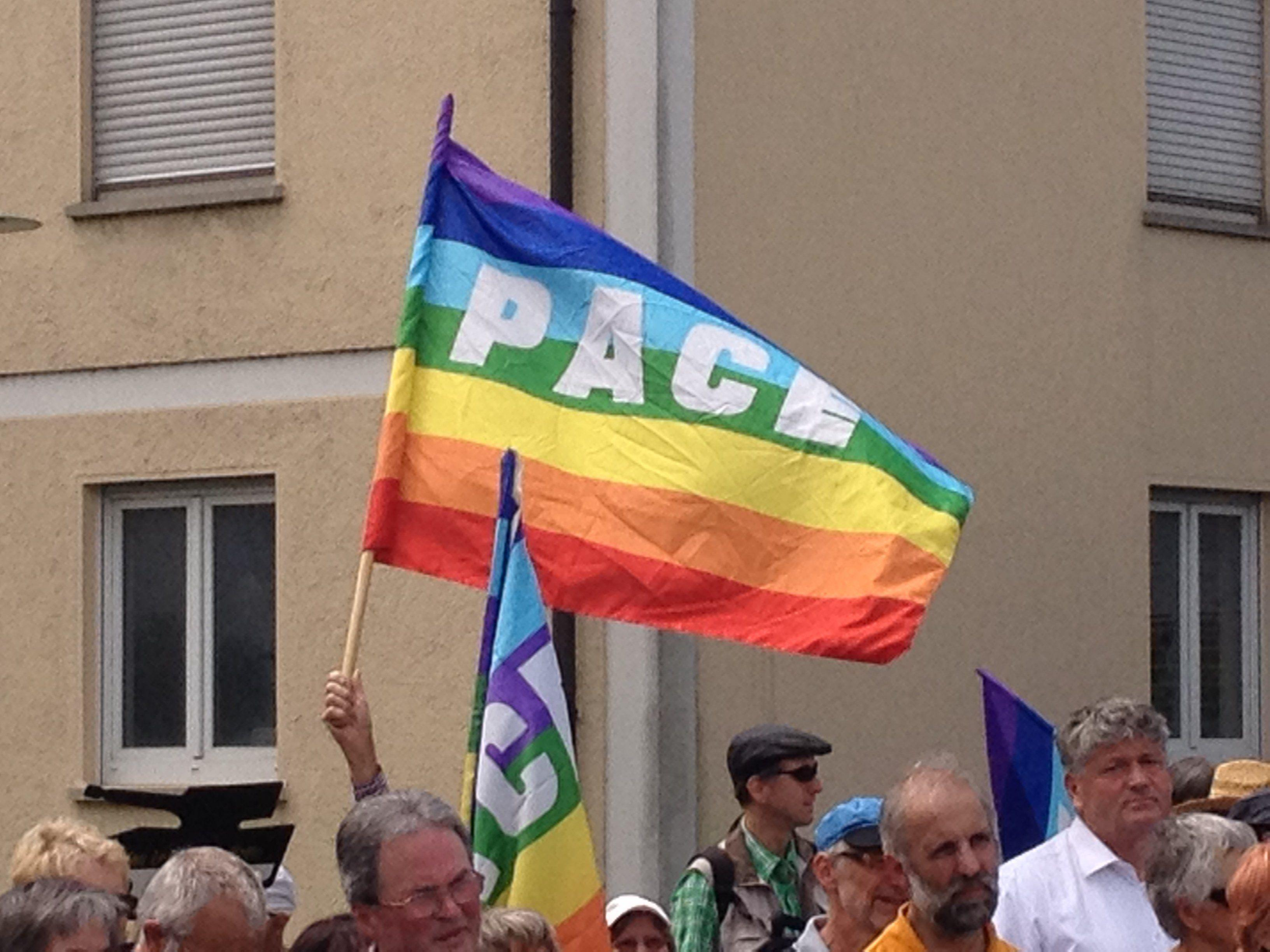 """""""Schweigen für Frieden"""" ist eine gewaltfreie Aktion für Gerechtigkeit, Versöhnung und Frieden."""