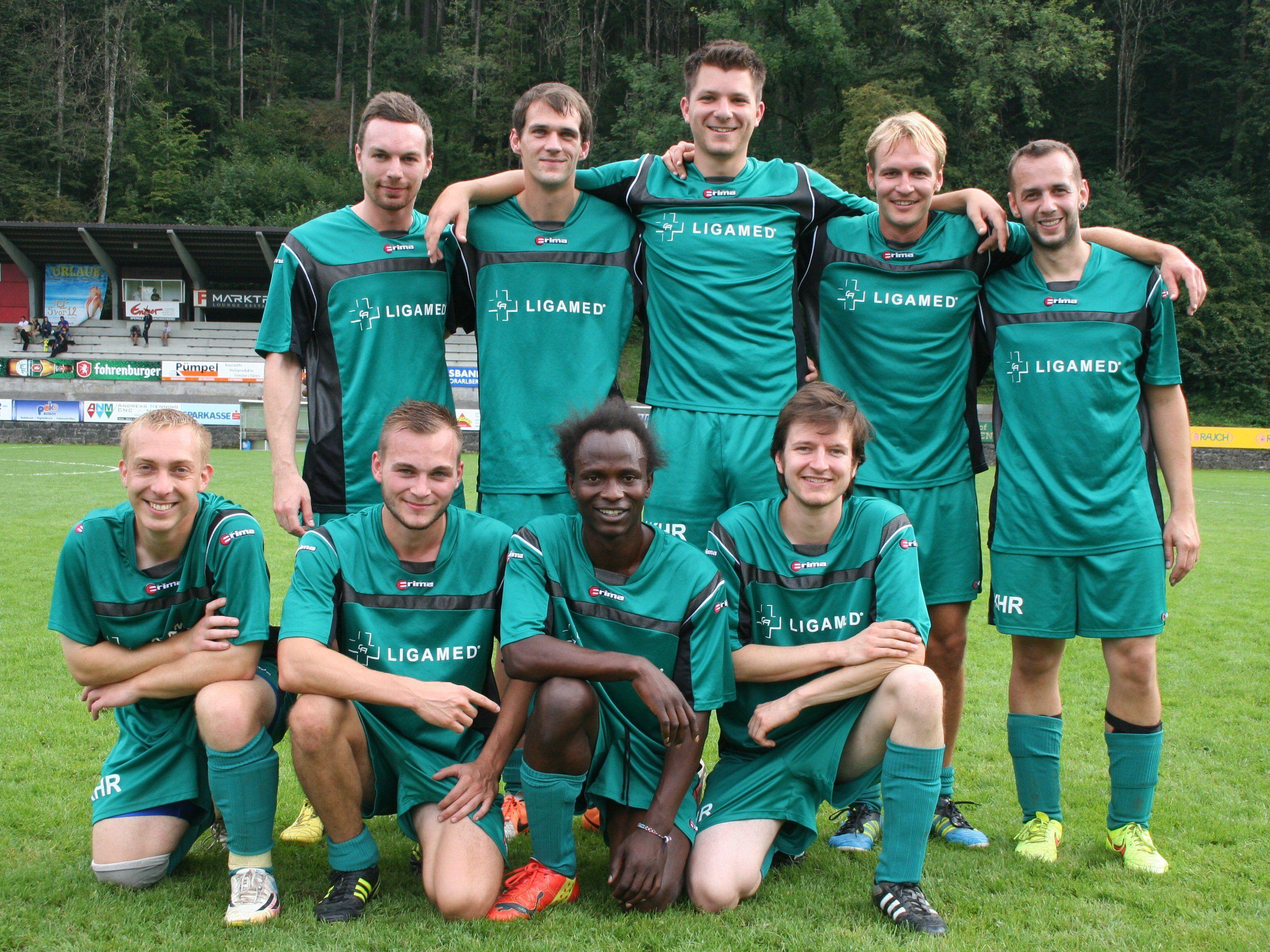 Vollen Einsatz bewies auch das Team vom LKH Rankweil.