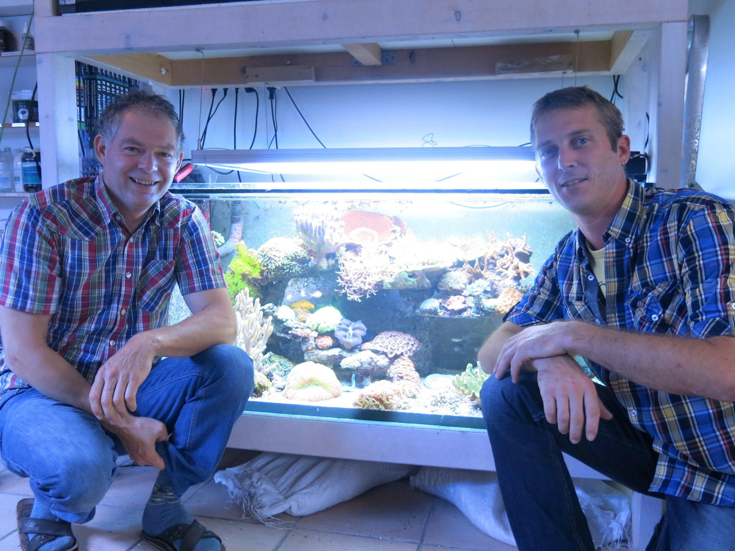 Peter Gregotsch und Pascal Troy freuen sich auf reges Interesse für den Einsteigerkurs