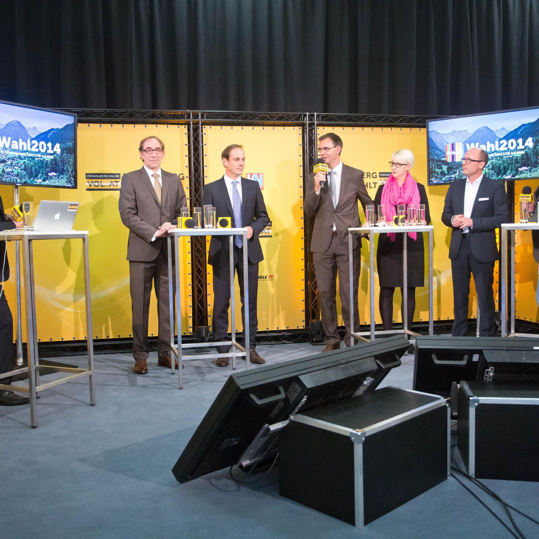 Vorarlberger Landtagswahl: Schwarzer Tag für ÖVP