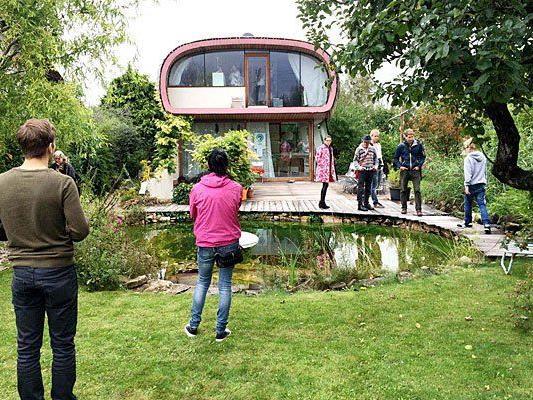"""Viele interessierten sich für den """"Käfer im Garten"""" beim Open House in Wien"""