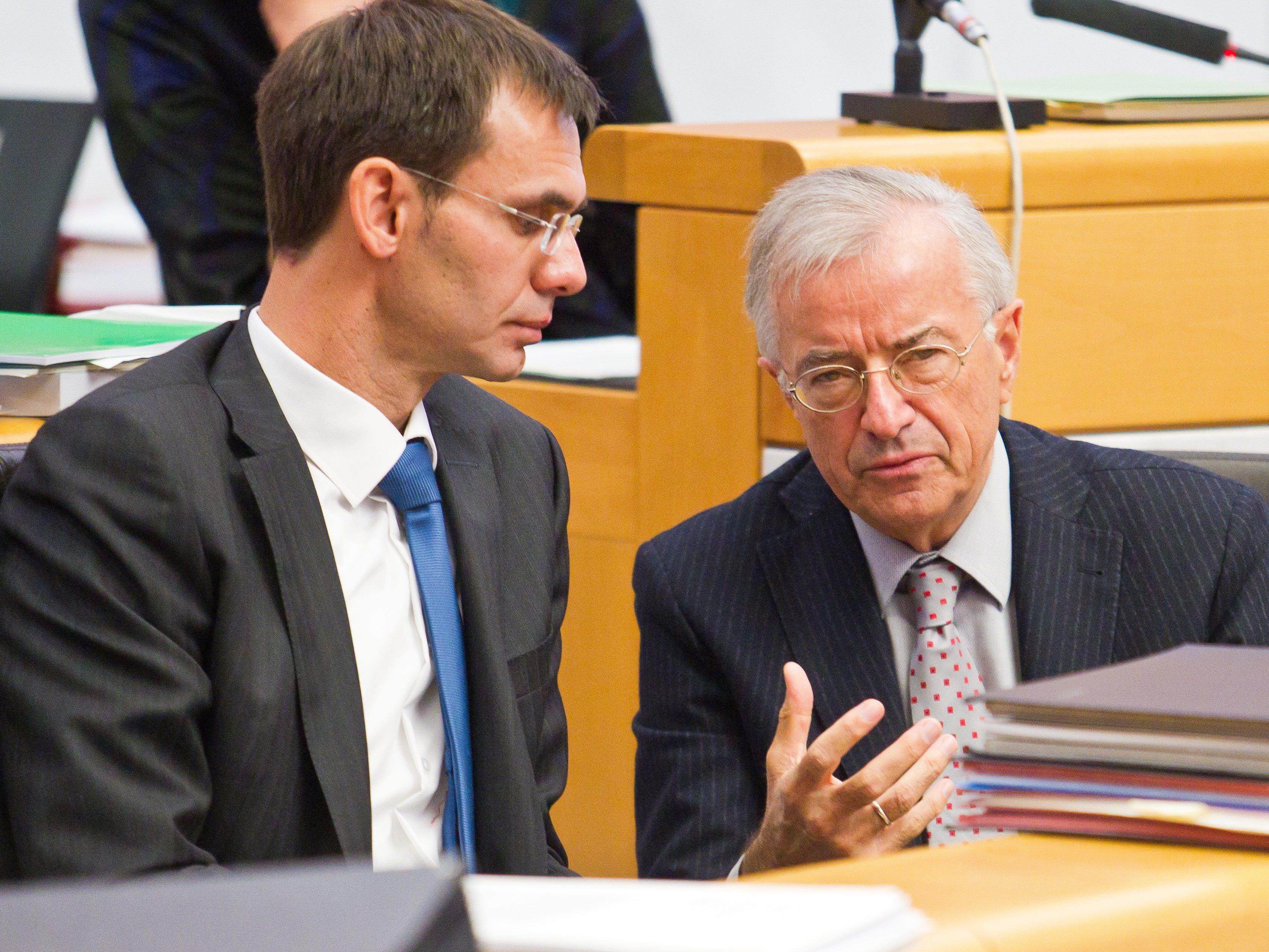 """ÖVP auf der Suche nach einem Koalitionspartner - Alleinregierung als Sargnagel der """"Absoluten""""."""